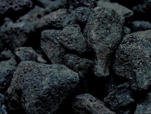 Batu Lava Hitam
