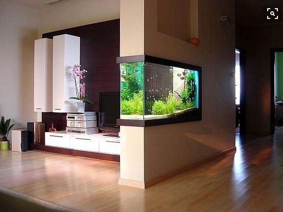 Aquarium dinding Kecil