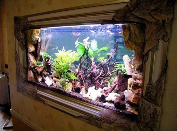 Aquarium Dinding 2