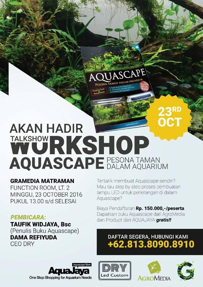 Talkshow Workshop Aquascape
