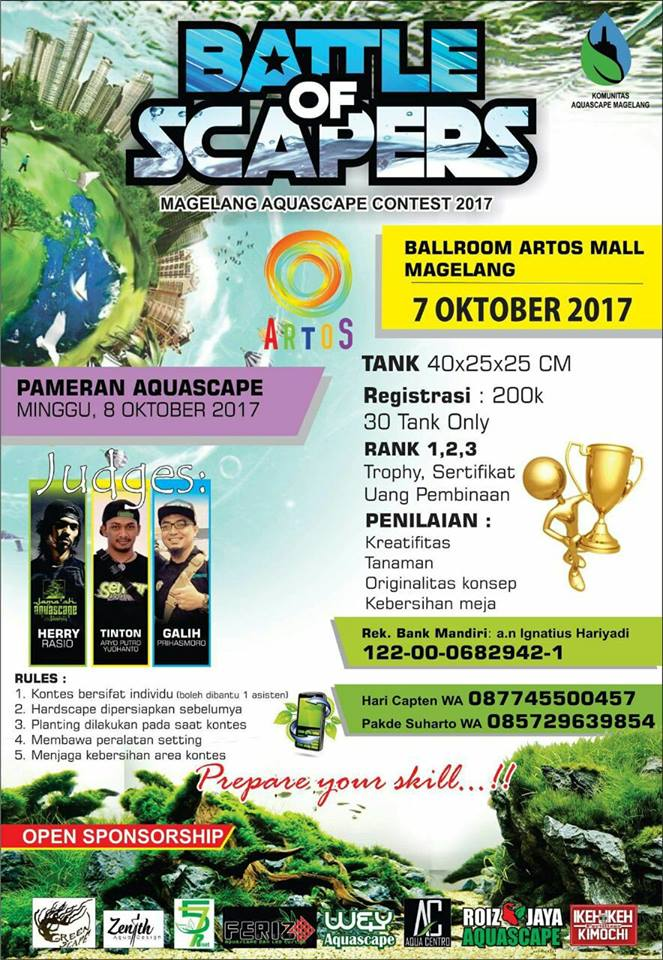 Magelang Aquascape Contest